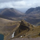 The descent from Beinn Dearg
