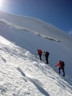Long pull up to the top of Castor aug 2013