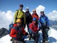 Lads on Breithorn Summit aug 2013