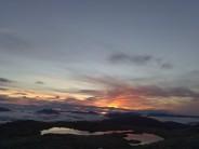 Sunrise on buachaille etive mor after a glorious summer bivvy
