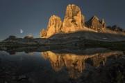 Sunset at the Tre Cime<br>© James Rushforth
