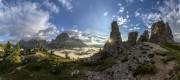 Cinque Torri panorama<br>© James Rushforth