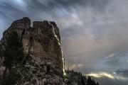 A midnight ascent of Via Myriam<br>© James Rushforth