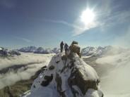 Hornli Ridge Buried in Snow