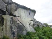 An inspiring effort on The Tube (E4 5c) from an Edinburgh based climber.