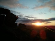 Sunset at Earl Crag