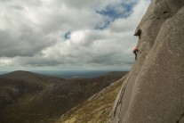 Idlewild on Bearnagh Tors. Mourne Mountains