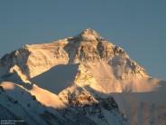 Everest North Face, Sunset (Tibet)