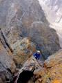 Crux Pitch (HS4a). Ouanoums Ridge, Toubkal West (High Atlas Mountains, Morocco)<br>© THE.WALRUS