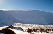 One of the largest avalanches ever recorded in Scotland, Coire an Lochain, March 2004.