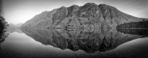 Wasdale Screes reflected in Waswater, I really like this photo in B&W, the original is in my gallery also.