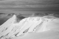 Cornices forming on Blencathra