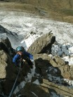 Jowsey on Pinnacle ridge
