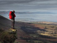 Looking over to the Brecons
