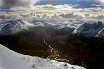 Fisherfield Forest from An Teallach
