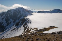Am Bodach (Mamores) from Stob Coire a Chairn