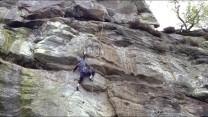 Seconding Audacity, Corby's Crag.