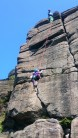 8 Yr old 'Munchkin' in safe hands on Paradise Wall