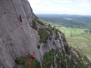 A beautiful line! Warhorse at Spellack, Mourne Mountains