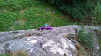 Sarah seconding Hung like a Bluebell