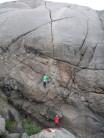 lofoten climbing at paradiset