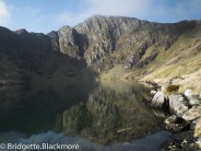 Llyn Cau - Cadair Idris March 2015 - 7am no one around apart from an unseen fell runner.