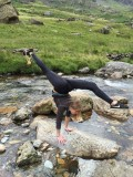 Anna Wild making some great shapes with her found Golden Torque Nut!