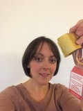 With a great effort by Liz, she found her Golden Nut at the Roaches