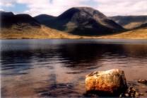 Blackmount from Loch Dochard
