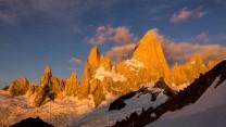 Fitzroy Skyline Alpine glow