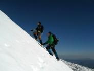 Winter climbing Spain
