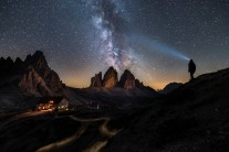 The Tre Cime & Rifugio Locatelli