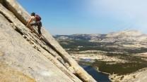 Easy angle + wonderful granite