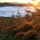 Sunrise and cloud! Ben ledi