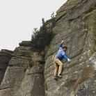 Nathan Lee styling his way up John Allen's pebble pulling testpiece; Shirley's Shining Temple