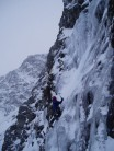 First ascent 'Chicken Run' - IV,4 Pitch 1 of 7