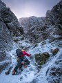 A promisingly icy start to Raeburn's Gully<br>© Adam Archibald