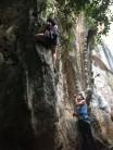 A Man Can Tell A 1000 Lies 6A 15m, Wee's Present Wall, Railay West, Thailand