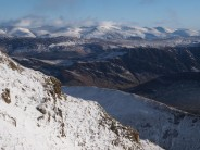 View over Derwent fells from Crag Hill.