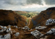 View from the top of Gordale Scar, Malham