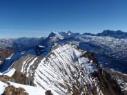 Druesberg, view east from the summit ridge
