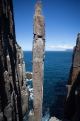 The Totem Pole: quite possibly one of the World's best rock climbing features<br>© Rob Greenwood - UKClimbing