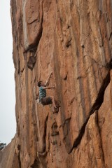 Antimatter - the classic 7a at the appropriately named 'Star Factory'<br>© Rob Greenwood - UKClimbing