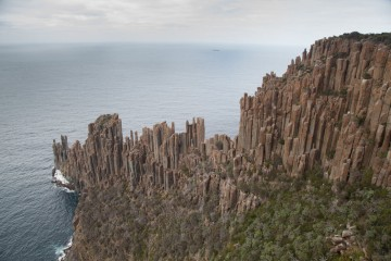 Cape Raoul: home to one of the best mid-grade sport climbs in the world<br>© Rob Greenwood - UKClimbing