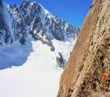 Classic ridge line route right above the refuge
