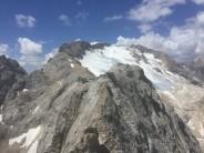 Half way along the ridge