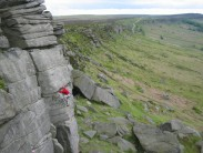 Si dH on High Neb Buttress (VS 4c)