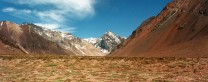 Scenery on the approach to Aconcagua base camp