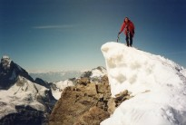 Obergabelhorn Summit