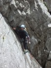 Scavenger VS 4b, Three Cliffs Bay, Gower, June 2005